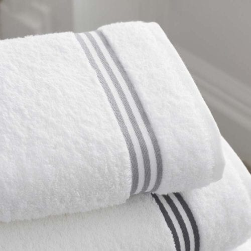 Commercially cleaned towels, superbly fresh for hotel