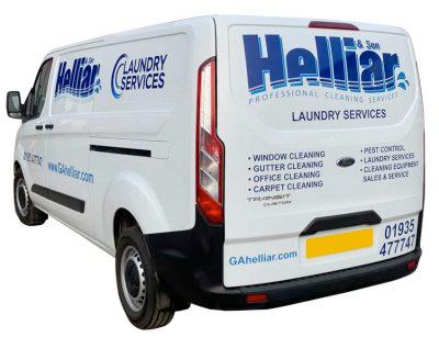 Helliar Laundry Van